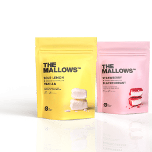 The Mallows classic berry. classic lemon. B2B. kundegaver. Julegaver. personalegaver. med chokolade. økologiske. økologi