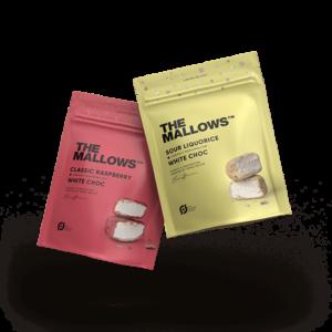 The Mallows. limited edition. B2B. kundegaver. Julegaver. personalegaver. med chokolade. økologiske. økologi