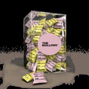 The Mallows Flowpacks-Økologiske-skumfiduser-Lemon, berry citrus jordbær og solbær smag marshmallows fra Emma Bülow