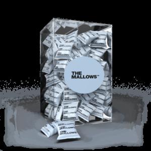 The Mallows Flowpacks-Økologiske-skumfiduser- Flaked Salt med mørk chokolade og maldonsalt fra Emma Bülow