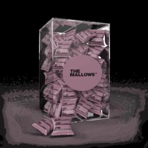 The Mallows Flowpacks-Økologiske-skumfiduser-Dark Liqourice mælkechokolade og Lakrids, lakridsgranulat fra Emma Bülow