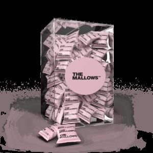 The Mallows Flowpacks-Økologiske-skumfiduser-strayberry & blackcurrant, med jordbær og solbær smag organic marshmallows fra Emma Bülow