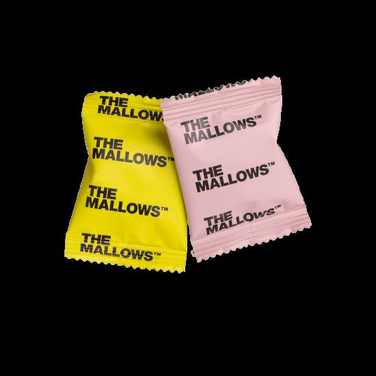 The Mallows-Økologiske-skumfiduser-classic-Strawberry- Lemon Flowpacks