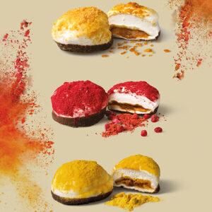 Caramel-Filled-Mallows-Crunchy-Toffee-The-Mallows-chokolade-karamel-skumfiduser-hindbær-rich-raspberry-passion-toffee